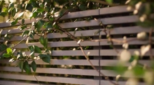 גדר אלומיניום שלבים לחצר
