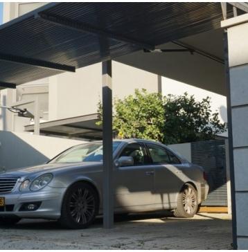 שער חשמלי לחניה פרטית