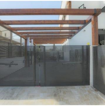 שער כניסה משולב דלת